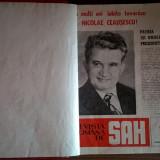 Revista de sah anii 1984, 1985, 1986 {36 numere, colegate} - Carte sport