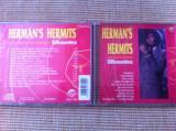 Herman's Hermits silhouettes disc cd muzica pop rock beat compilatie anii 60