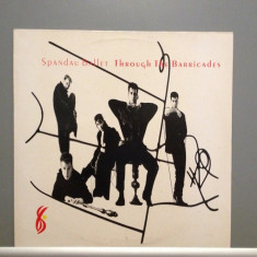 SPANDAU BALLET - THROUGH THE BARRICADES (1986/CBS /UK) - Vinil/Impecabil (NM) - Muzica Pop Columbia
