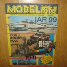 REVISTA MODELISM  NR.1 ANUL 1990