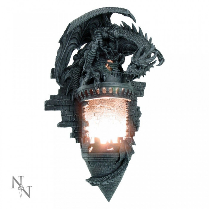 Lampă de perete Stăpânirea dragonului foto mare