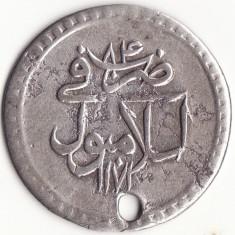 Sublimul Stat Otoman - 10 Para 1758 - Anul de domnie 84 - Argint