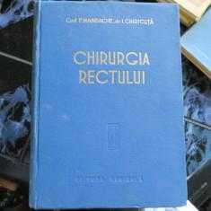 CHIRURGIA RECTULUI F. MANDACHE