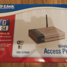 DLINK ACCESS POINT DWL G700AP - Acces point