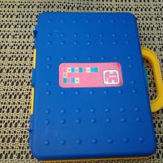 Jumbo / cutie jetoane albastru 26 cm