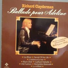 RICHARD CLAYDERMAN - BALLADE POUR ....(1977/TELEFUNKEN/RFG) -Vinil/Impecabil(NM) - Muzica Clasica universal records