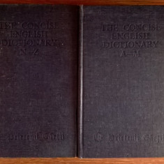 The Concise English Dictionary adapted by Fowler {2 volume, Prietenii cartii}