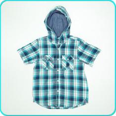 Camasa bumbac, frumoasa, H&M _baieti | 7-8 ani | 122-128 cm, Marime: Alta, Culoare: Albastru, Fete