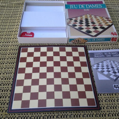Joc Dame 32 cm - Jocuri Logica si inteligenta