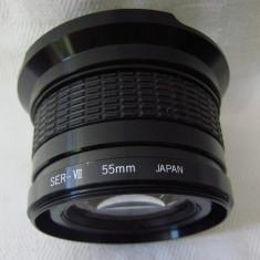 Obiectiv MACRO de 55 mm marca PanaVision pentru aparat foto - Obiectiv DSLR, Wide (grandangular)