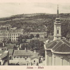 ZALAU - ZILAH, VEDERE GENERALA, ED. LIBRARIA SERES - Carte Postala Crisana dupa 1918, Necirculata, Printata