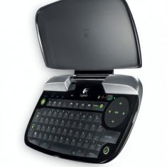 Tastatura wireless Logitech diNovo Mini Y-RBG93, NOU, model foarte RAR !!!, Mini tastatura, Fara fir, Bluetooth, Tastatura iluminata