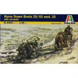 + Macheta 1/35 Italeri 6464 - Horse Drawn Breda 20/65 +