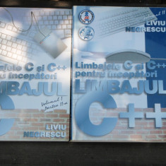 LIMBAJUL C++ - LIVIU NEGRESCU 2 VOLUME - Carte hardware