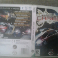 Need for Speed Carbon - NFS - Wii - Jocuri WII, Curse auto-moto, 12+, Multiplayer