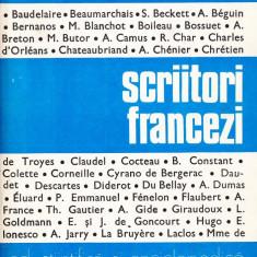 Irina Badescu - Mic dictionar.Scriitori francezi - 36559 - DEX