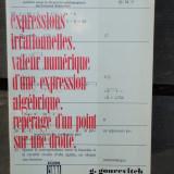 EXPRESSIONS IRRATIONNELLS. VALEUR NUMERIQUE D'UNE EXPRESSION ALGEBRIQUE. - Carte Matematica