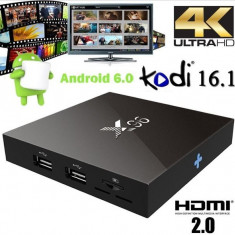 Noul Mini PC X96 Android 6.0 TV Box Amlogic S905X Quad Core Kodi 16.1