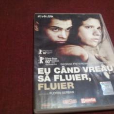 FILM DVD EU CAND VREA SA FLUIER FLUIER, Romana