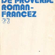 Elena Gorunescu - Dictionar de proverbe roman-francez - 36563 - DEX