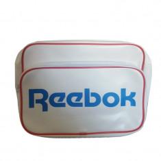 Geanta laptop Adidas Reebok-Geanta Originala -45 x 30 X 13, Poliester, Alb