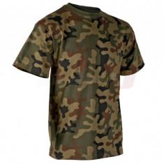 Helikon-Tex Classic Army tricou bumbac Pl Woodland (S) - Tricou barbati, Maneca scurta