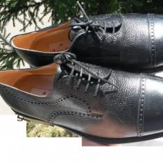 Pantofi barbati Aldo piele naturala ITALIA nr.43 originali NOI, Culoare: Negru