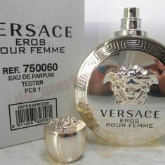 Parfum TESTER Versace Eros Dama, 100 ml, Calitatea 1, Livrarea Gratuita ! - Parfum femeie Versace, Apa de parfum