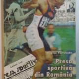 PRESA SPORTIVA DIN ROMANIA 1864 - 1997 de NICOLAE POSTOLACHE , 1997