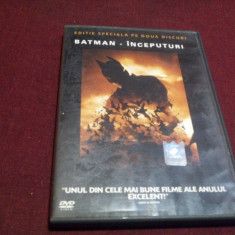 FILM DVD BATMAN INCEPUTURI 2 DVD, Romana