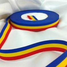 Rola Banda Tricolor 2 cm x 50 metri