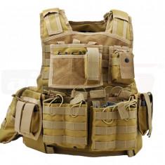 Invader Gear vesta tactica Mod Carrier Combo Coyote - Vesta barbati