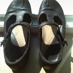 Pantofi opincuta clarks piele naturala marime 40.5 sau 7 - Pantof dama Clarks, Culoare: Maro