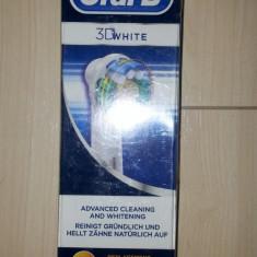 Set 3 rezerve periuta electrica Oral B Braun 3 White.