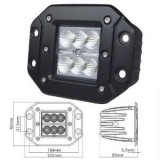 Proiector LED 418, 18W FLOOD 60°, 12/24V, Universal