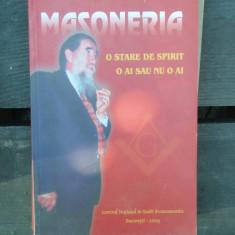 MASONERIA - HORIA NESTORESCU BALCESTI - Carte Hobby Masonerie