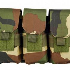 8Fields buzunar triplu port-incarcatoare pentru M4/M16 Woodland