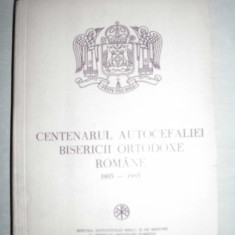 Dedicatiesemnatura-CENTENARUL AUTOCEFALIEI bisericii ortodoxe romane, 1987 - Biblia