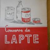 C. TELESCU--CONSERVE DE LAPTE - 1957 - Carti Industrie alimentara