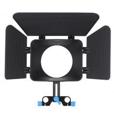 Matte box parasolar 15mm rail rod camshade pt dslr - Lumini Studio foto