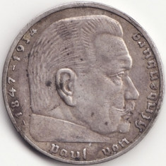 Imperiul German - 2 Reichsmark 1939 - A - Argint, Europa