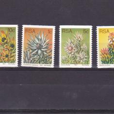 Flora locala, Sud Africa. - Timbre straine, Nestampilat