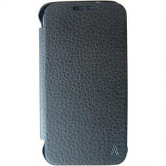Husa Flip Cover Anymode fa00112kbk Black pentru Samsung Galaxy Trend 2 Lite - Husa Telefon