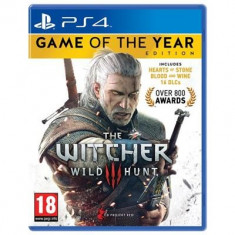 The Witcher 3 Wild Hunt Game Of The Year Ps4 - Jocuri PS4, Role playing, 18+