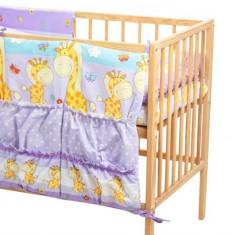 Buzunar Patut Mykids Happy Giraffe Mov - Set mobila copii