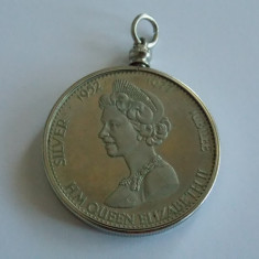 Medalie -Jubileul de argint -Regina Elizabetha II - 468, Europa