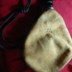 Sticla de Bautura - Burduf din piele de capra -1, 5 l