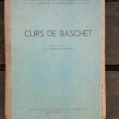 CURS DE BASCHET - LEON TEODORESCU, Alta editura