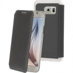 Husa Flip Cover Muvit 107098 Made in Paris Crystal pentru Samsung Galaxy S6 - Husa Telefon