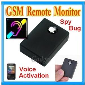 Microfon spion GSM  N9 Dispozitiv spionaj Autodetectie sunet Activare vocala